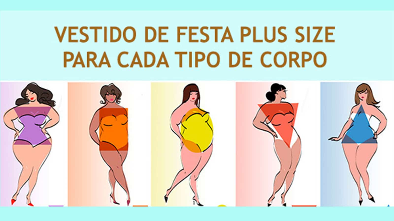 vestido de festa plus size para cada tipo de corpo